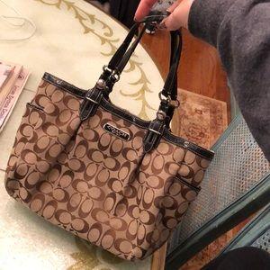 Slightly used COACH bag
